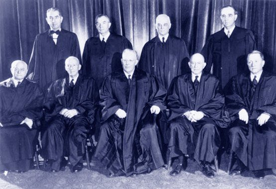 The Warren Court in 1953