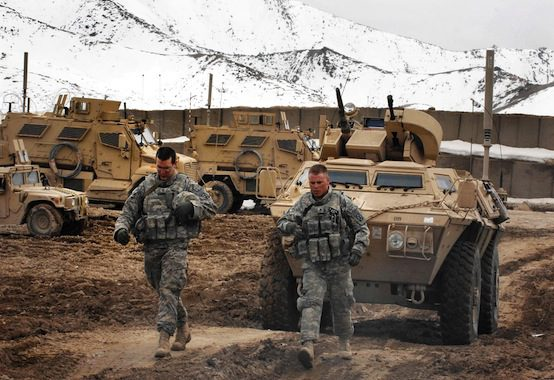 United States troops wounded in apparent insider attack at Afghan base