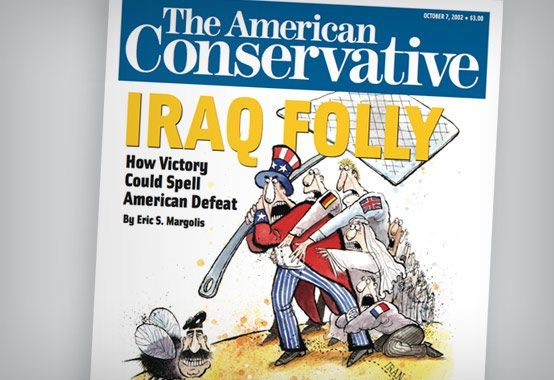 Cover of the TAC's inaugural October 2002 issue