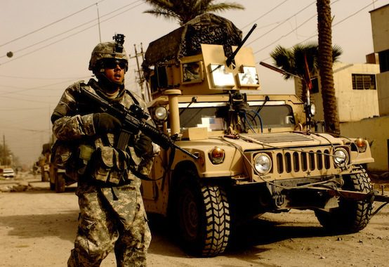 Army patrol in Karadah, Iraq, 2008 | U.S. Army / Flickr