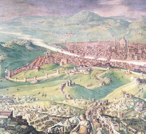 Vasari, The SIege of Florence (ca. 1555)