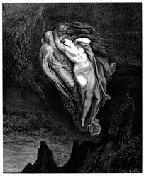 Paolo and Francesca, by Gustave Doré