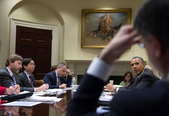 White House Obamacare meeting. Official White House Photo by Pete Souza.