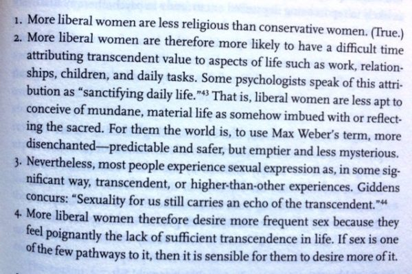 Liberal Women Are Lustier | The American Conservative on